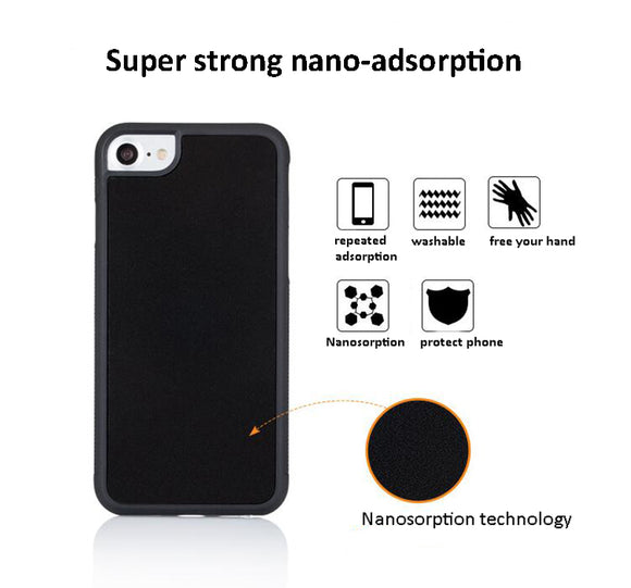 Anti-gravity suction Phone case for iPhone