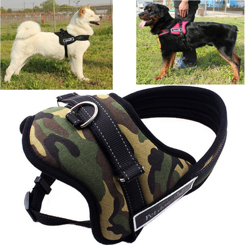 Top Quality Adjustable Reflective Sports Dog Harness - Great For Dog Lovers!