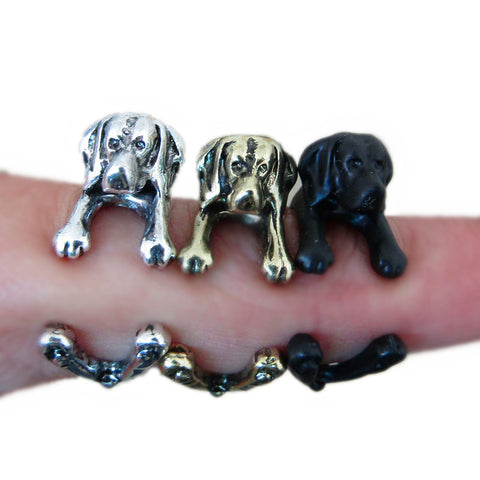 Labrador Dog Lover Ring - Multiple Colors!