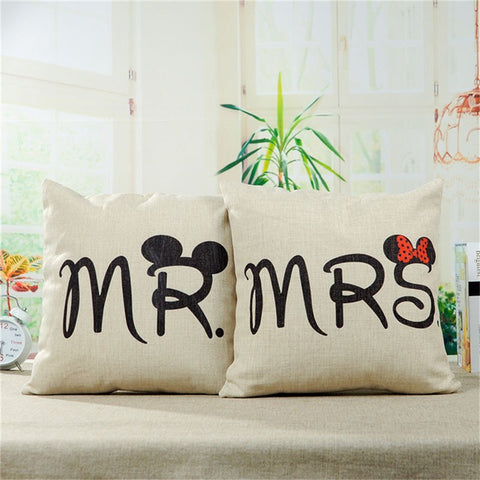 Mr and Mrs Pillow - Hot Selling Item