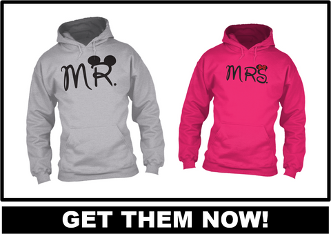 Mr and Mrs Hoodies - Hot Selling Item