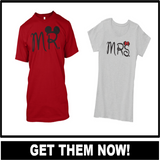 Mr and Mrs Shirts - Hot Selling Item