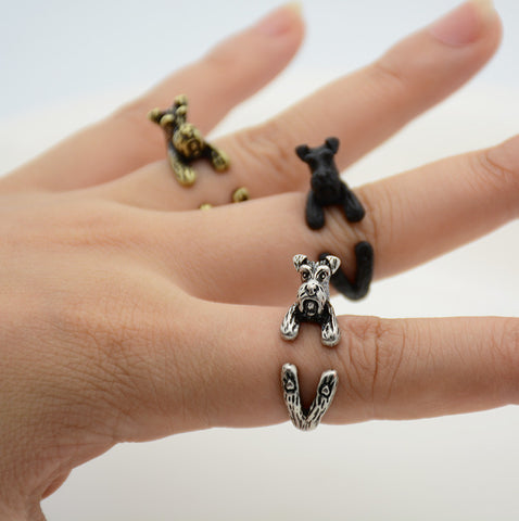 Free Schnauzer Dog Lover Ring - Multiple Colors!
