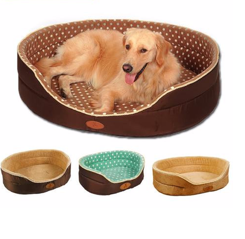 Double Sided Dog/Cat Bed - Multiple Sizes Available