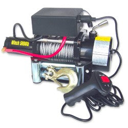 12V Electric Winch, 5,000lb