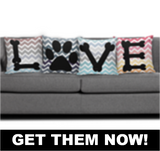 Dog Love Pillow - Hot Selling Item