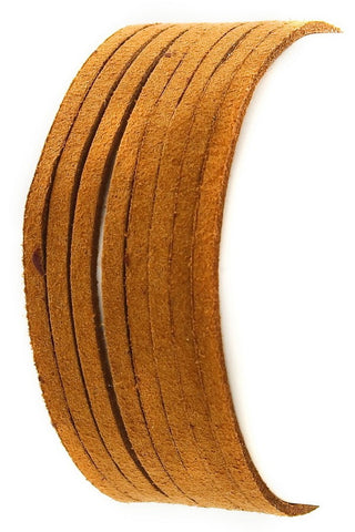 Layered Suede Pull Tye Bracelet JR