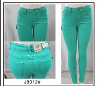 5 pocket Skinny Pants - Mint Green