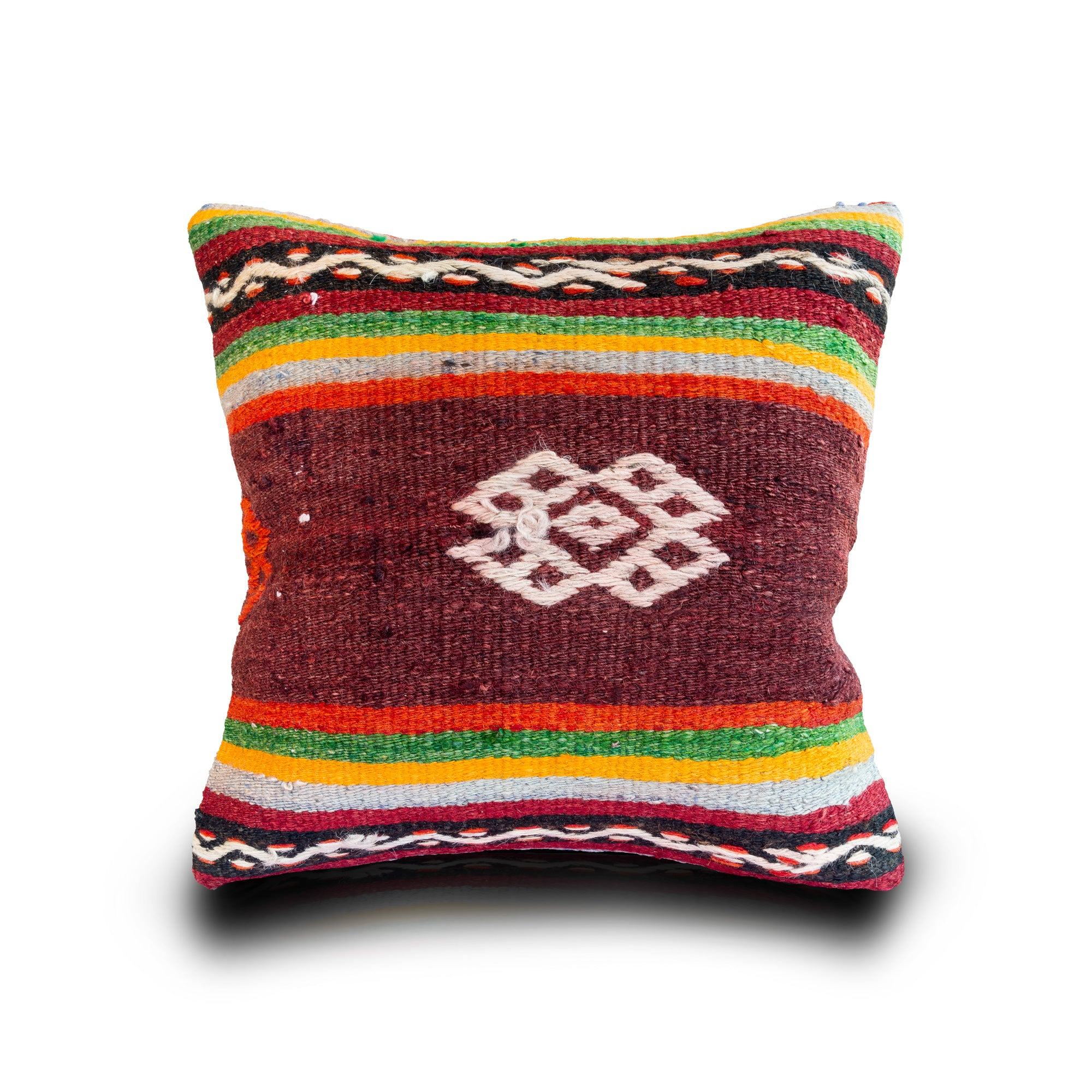 and pillow neon colorblock tulipe red pink studio