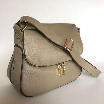 CARISSA - Taupe/Dark Brown