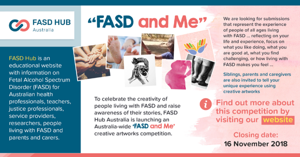 'FASD and Me' creative artwork competition