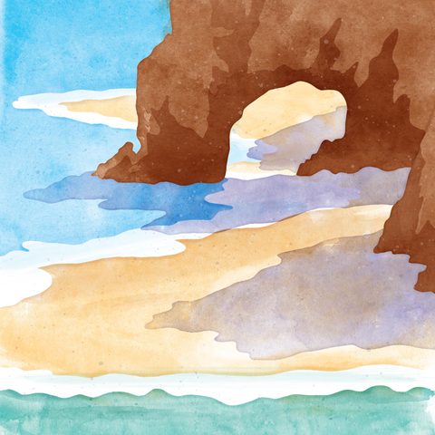 Watercolor Texture Illustration
