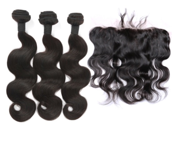 3 Bundle Deal with Lace Frontal