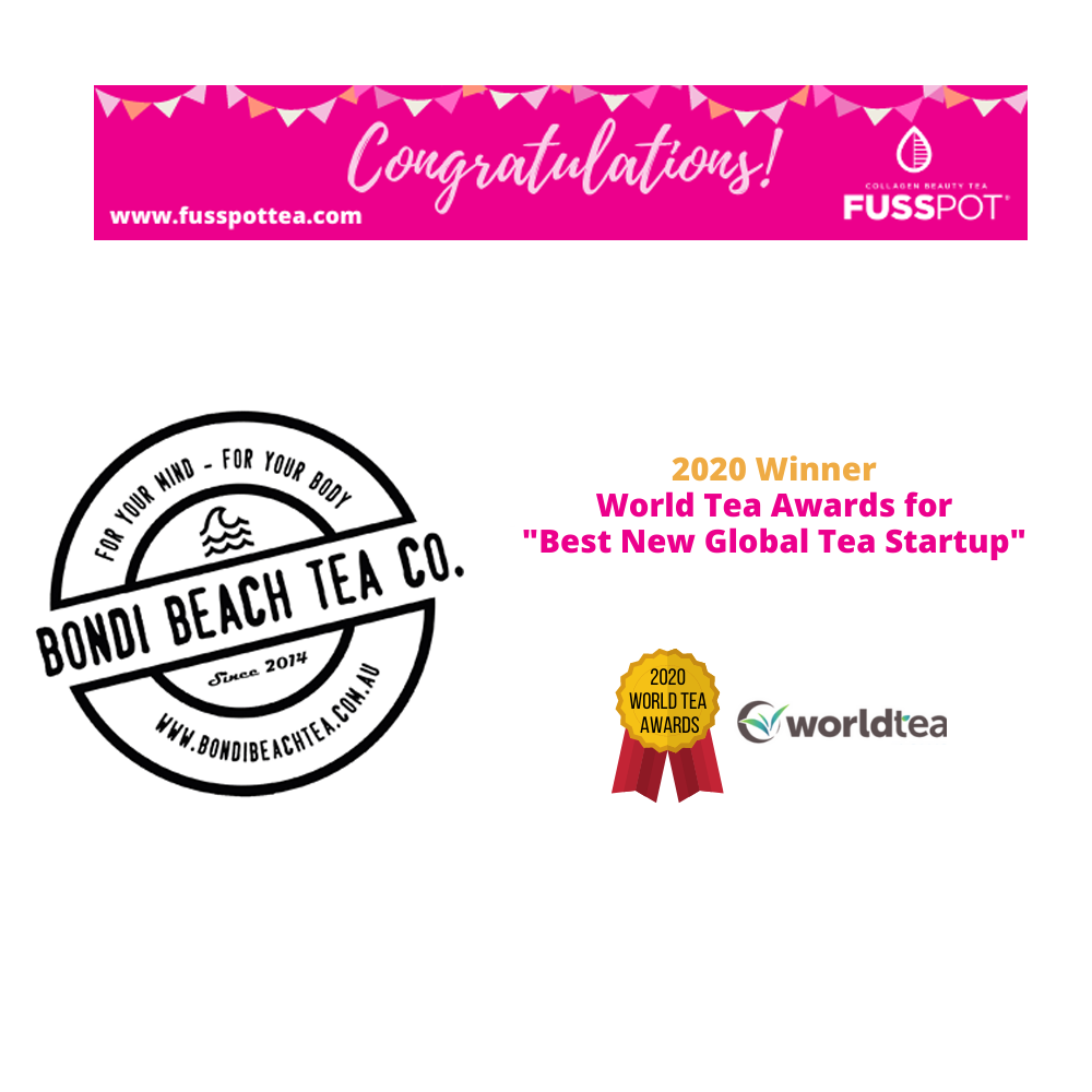 "on the WORLD TEA AWARD's Category for the ""Best New Global Tea Startup"""