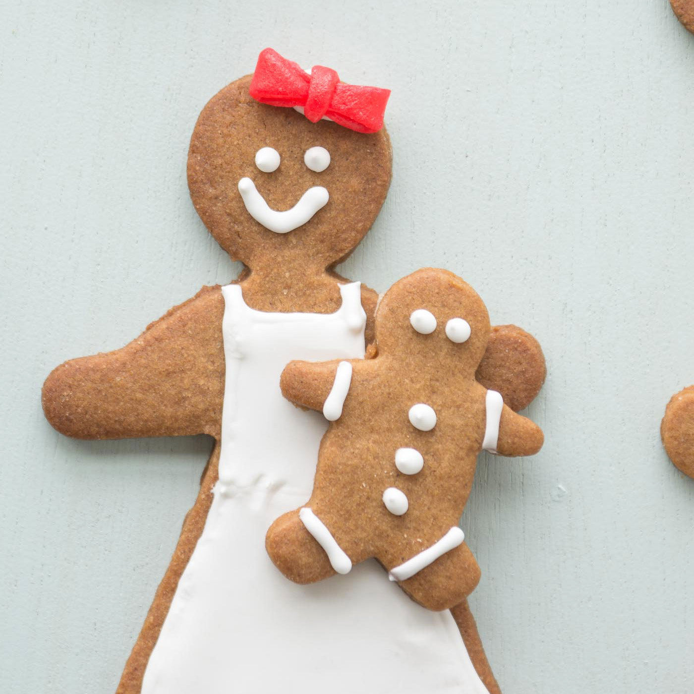 The Best Homemade Gingerbread Christmas Cookie Recipe