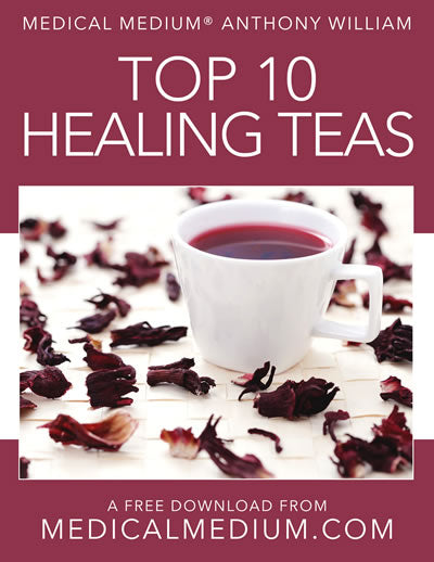 Anthony William Recommended Tea Blends