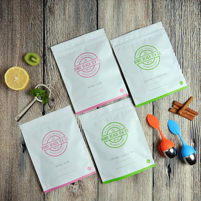 The Bondi B-Slim Together Tea 2 X 28 day packs + 2 Tea Infusers