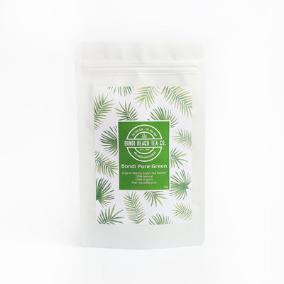 Bondi Pure Green - Organic Matcha Green Tea-Bondi Beach Tea Co