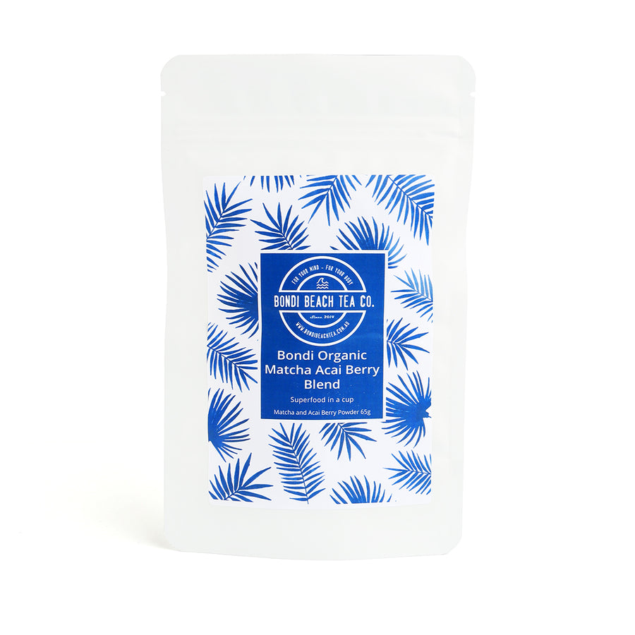 Bondi Organic Matcha Acai Berry Blend-Bondi Beach Tea Co