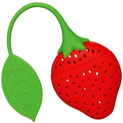 Strawberry Tea Strainer-Bondi Beach Tea Co