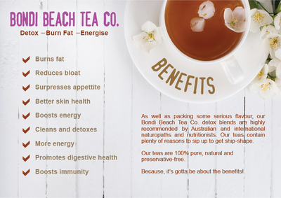 The Bondi Special Health Pack Combo 14-Day-Bondi Beach Tea Co