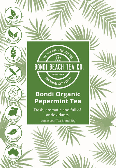 Pure Peppermint Leaf Tea - Organic