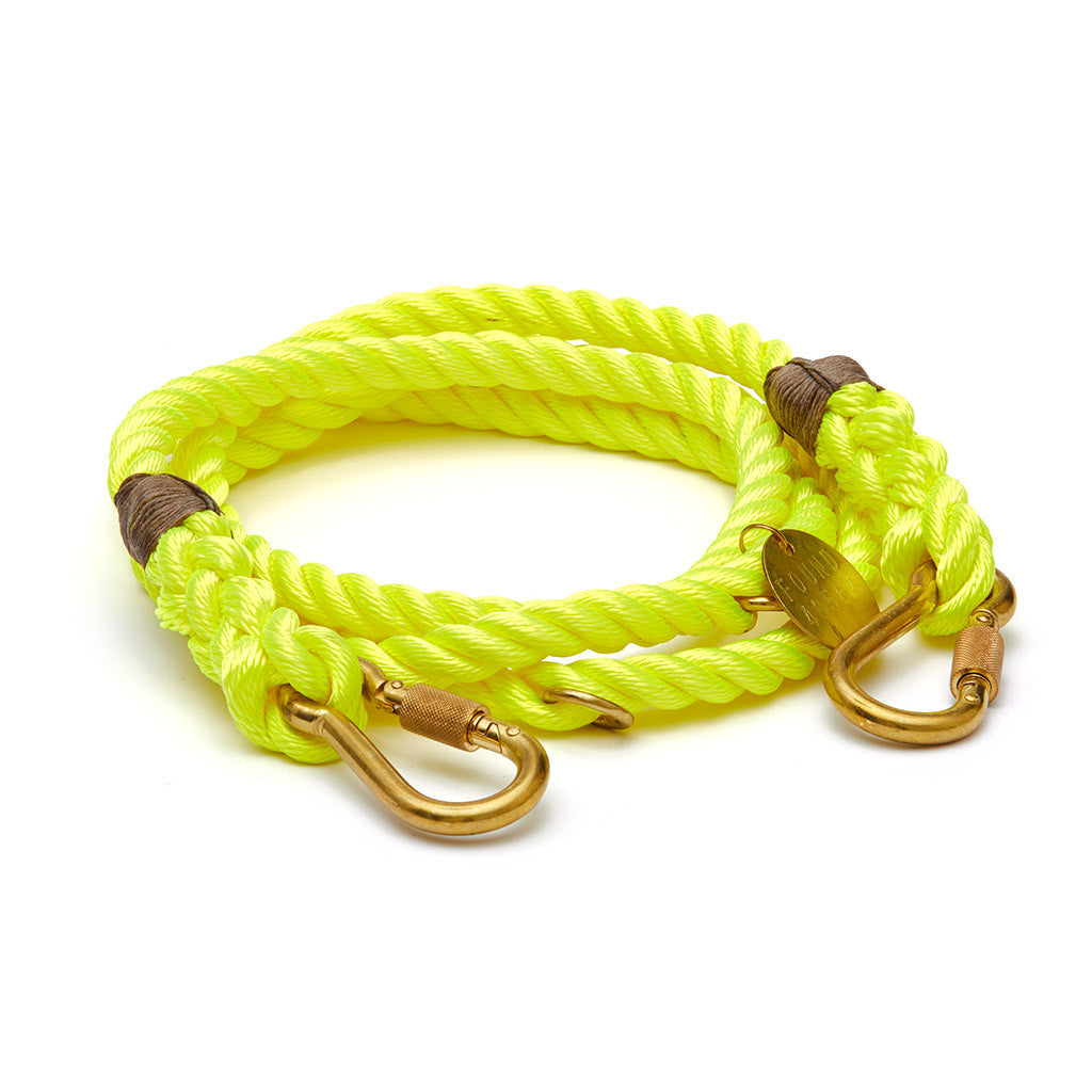 Found My Animal Lead - Neon Yellow