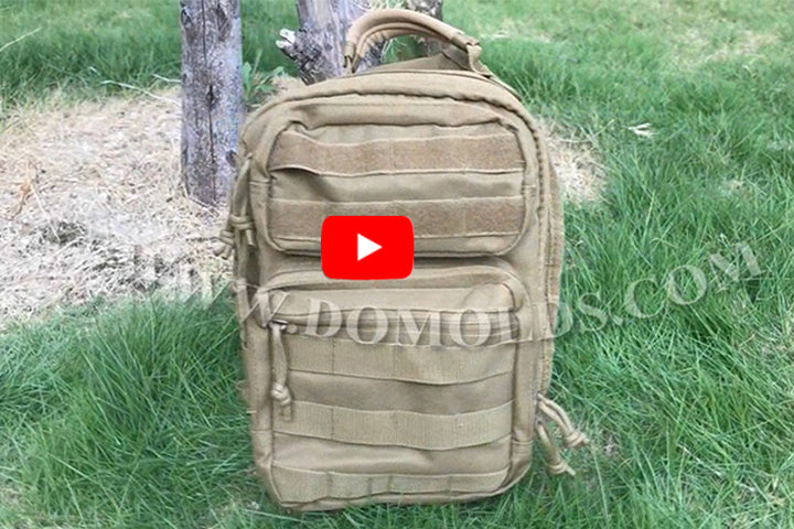 Tactical Sling Backpack  DYT-001 Tan