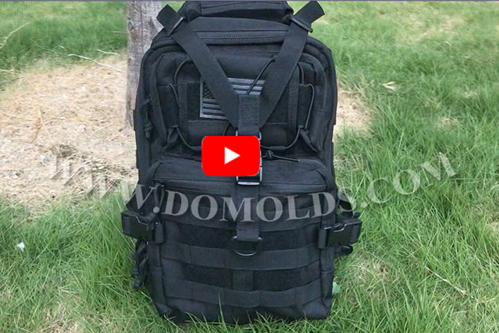 Tactical sling backpack DYT-003 Black