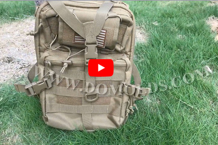 Tactical backpack DYT-003 Tan