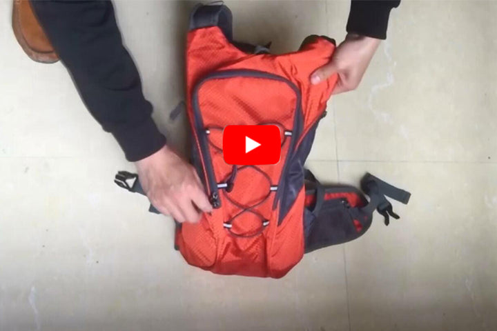 Portable lightweigh hydration pack