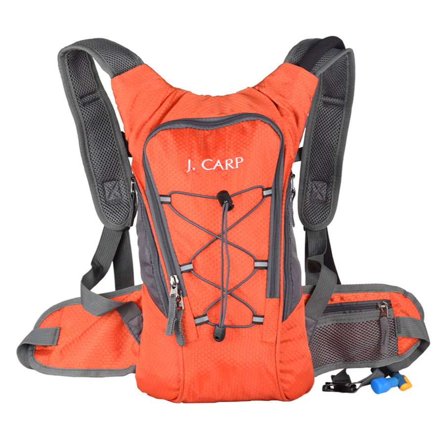 Sample-J. Carp 2 liter/3 liter Hydration Pack, Lightweight Backpack for Hiking, Running, Camping, Climbing, Cycling, Walking, Hunting