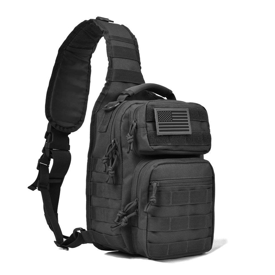 Custom Sample -Tactical Sling Bag Pack Military Rover Shoulder Sling Backpack Small