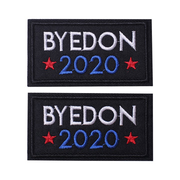 Byedon 2020, Hook & Loop Patches 2 PCS