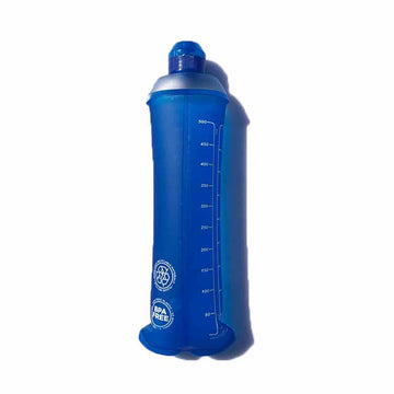 500ml TPU hydration bottle soft flask collapsible bottle sporty cap
