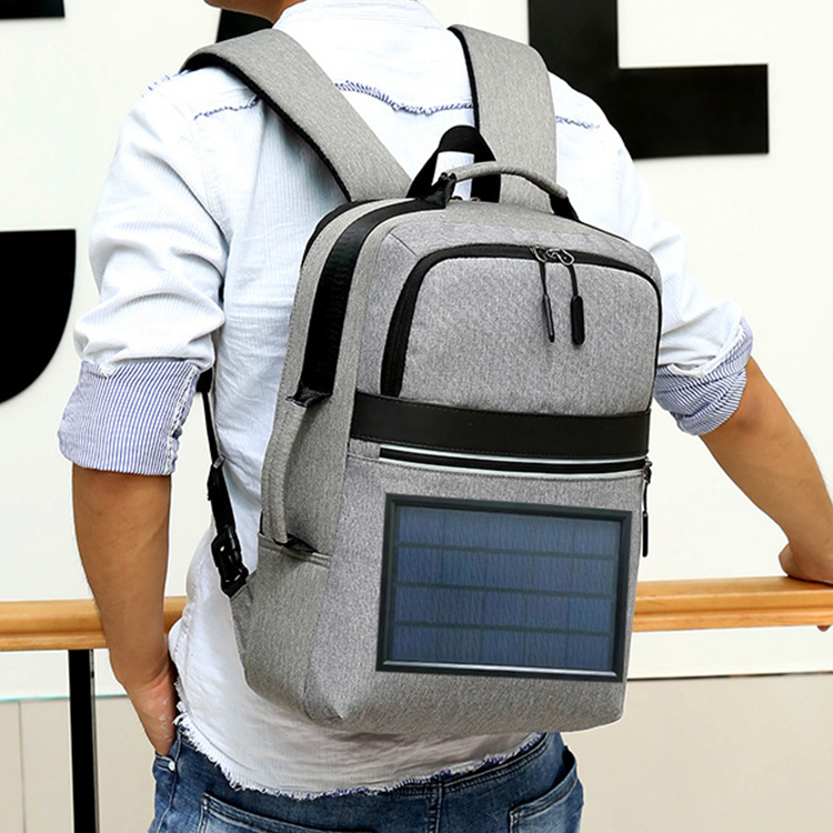 solar charger daypack supplier