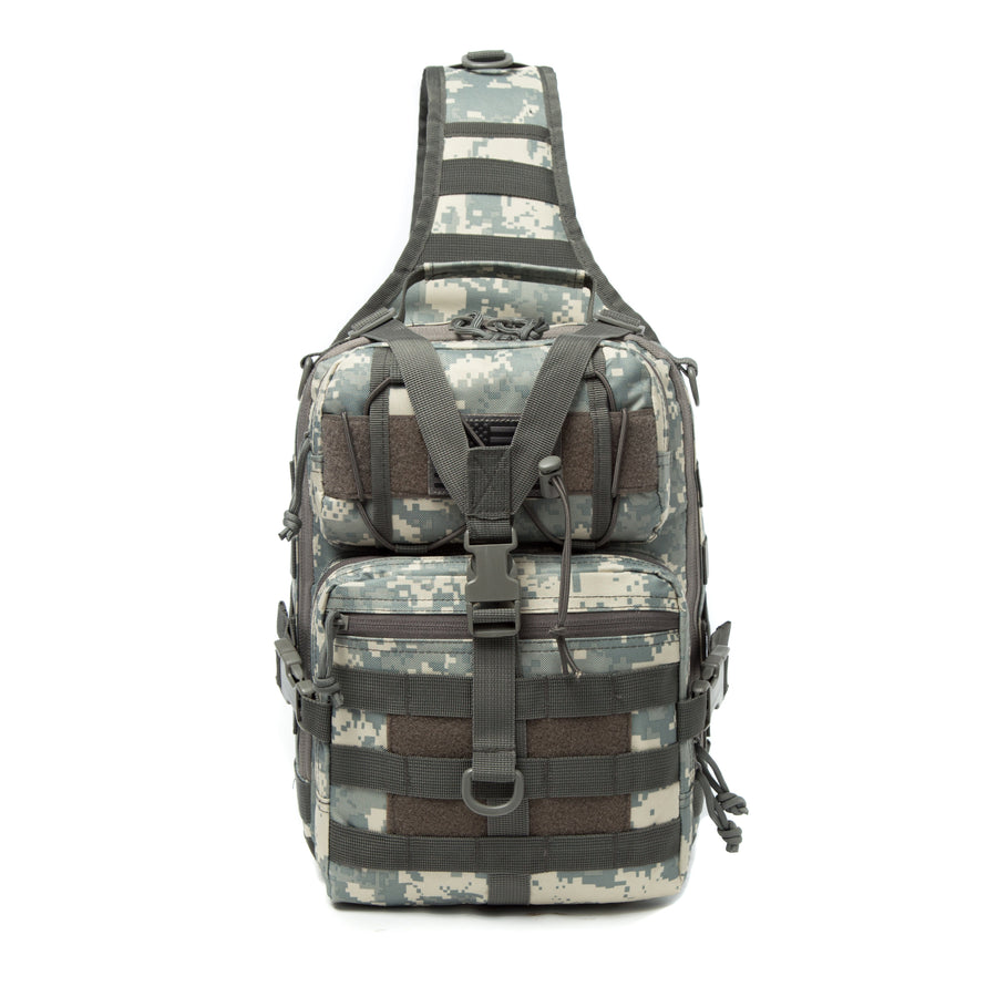 Custom Sample - Tactical Sling Bag Pack Military Rover Shoulder Sling Backpack