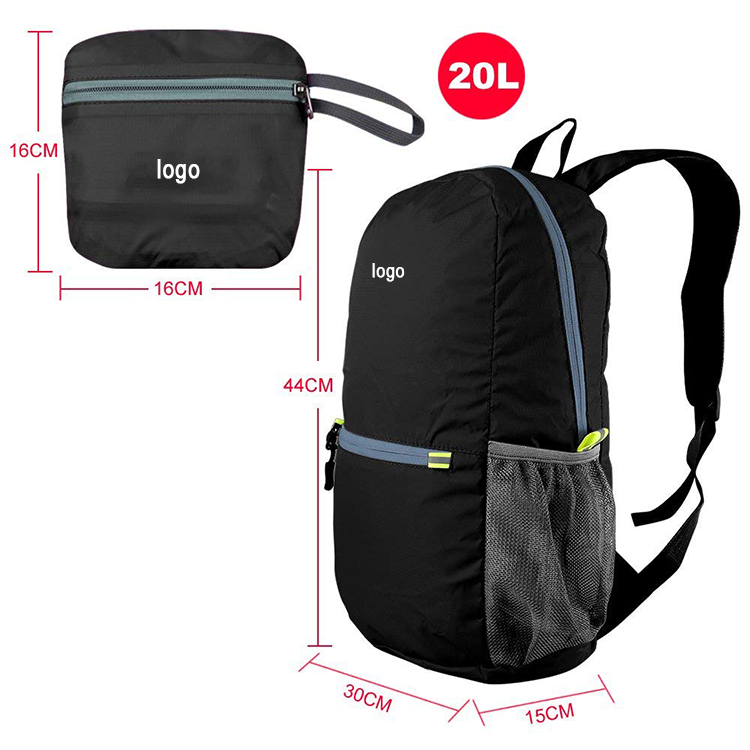 Lightweight day bag for travel lightweight DHP-024