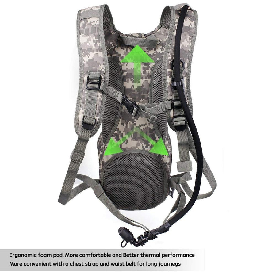 tactical hydration backpack vendor