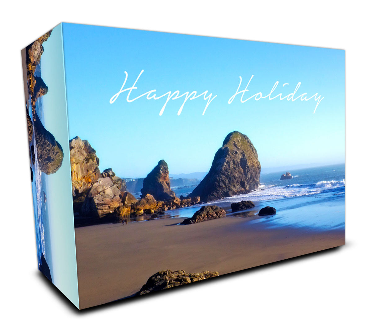 Customisable Golf Ball Packaging Box #5 - Happy Holiday