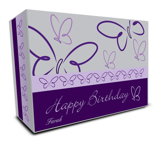 Customisable Golf Ball Packaging Box #7 - Happy Birthday