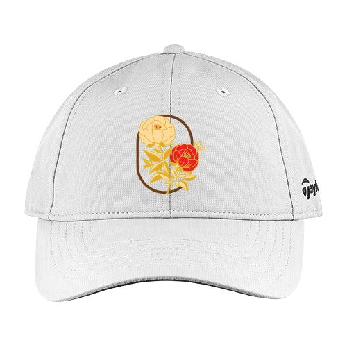 TaylorMade Men Performance Front Hit Hat - Design Flower