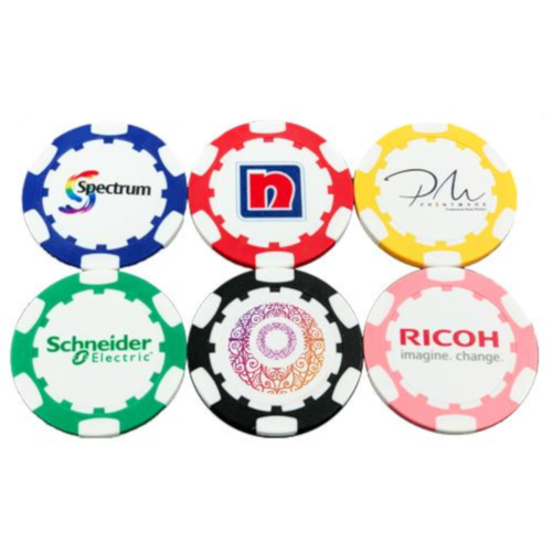 Copy of Customisable Poker Chip Golf Ball Marker