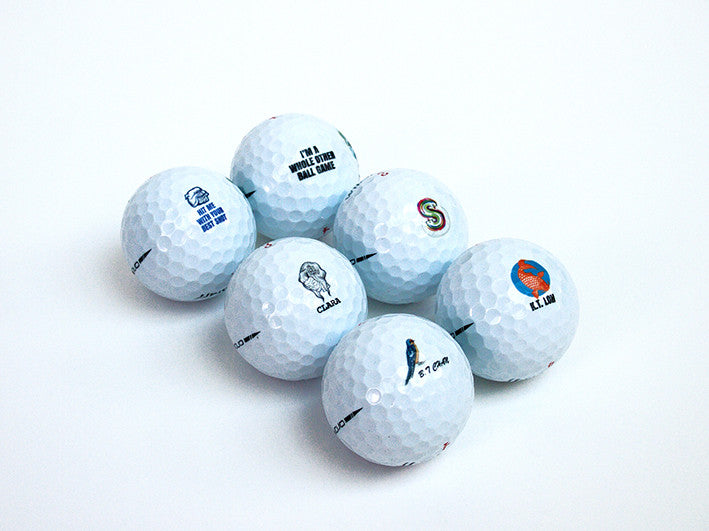 Customised Golf Balls
