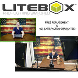 LITEBOX | LED Photography Lighting Kit [MODEL: LED-280R] - liteboxphotography