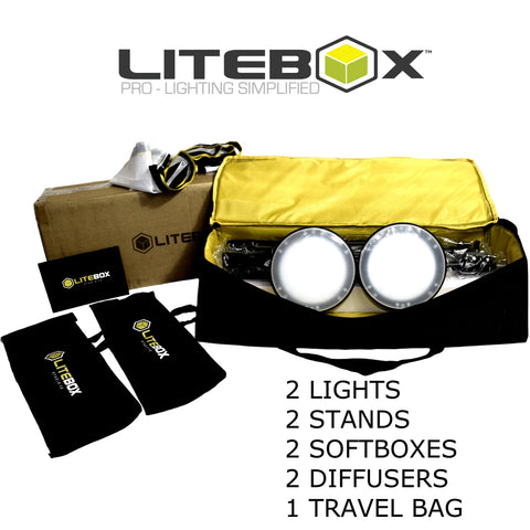 LITEBOX | LED Photography Lighting Kit (NEW)