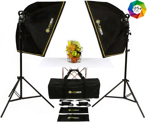 LITEBOX | LED Photography Lighting Kit [MODEL: LED-280R]