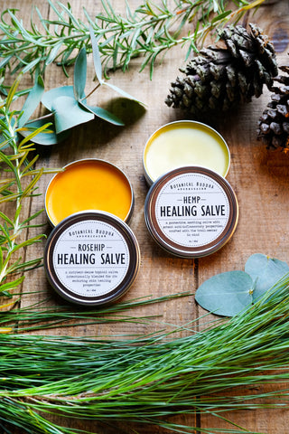 Healing Salve Duo - Hemp & Rosehip