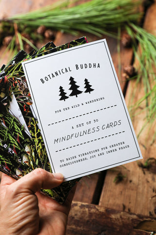 Set of 30 Mindfulness Cards