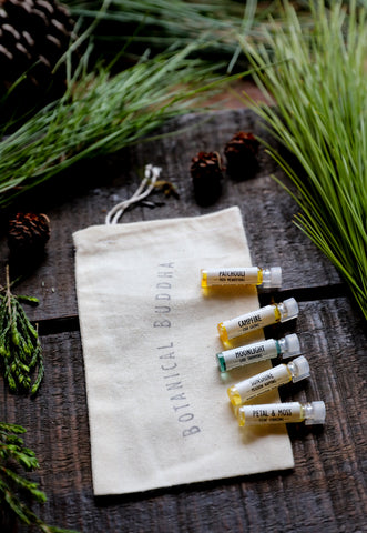 Scent Stories Sampler Kit - 5 Mini Natural Perfume Samples